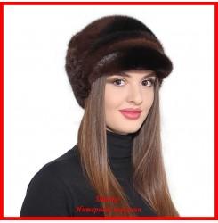 Норковая шапка Диана