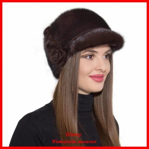 Норковая шапка Диана 1
