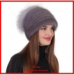 Норковая шапка Стелла 4