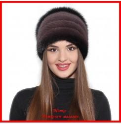 Норковая шапка Стелла 6