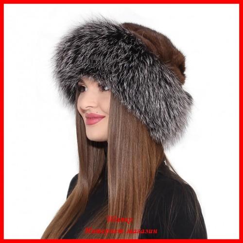 Меховая шапка Эльвира 2