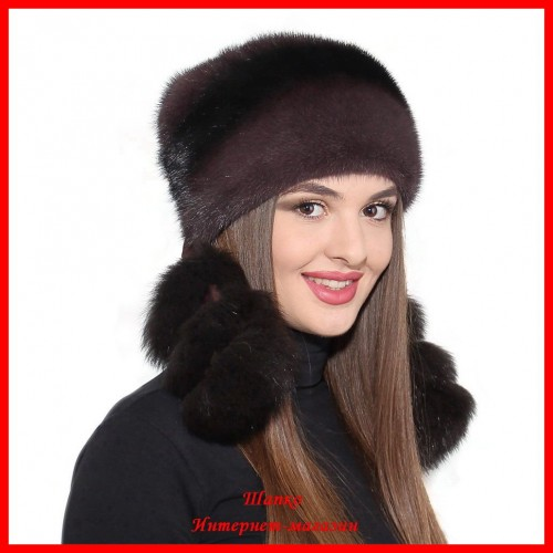 Норковая шапка Валерия