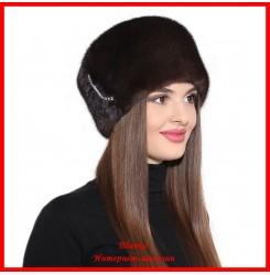 Норковая шапка Кубанка 4