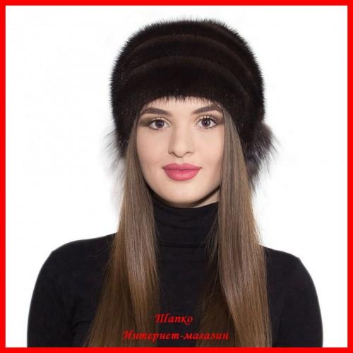 Норковая шапка Аленка 1
