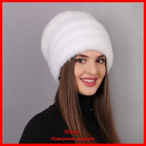 Норковая шапка Стелла 8