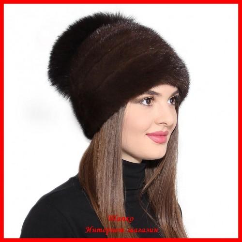 Норковая шапка Стелла 7