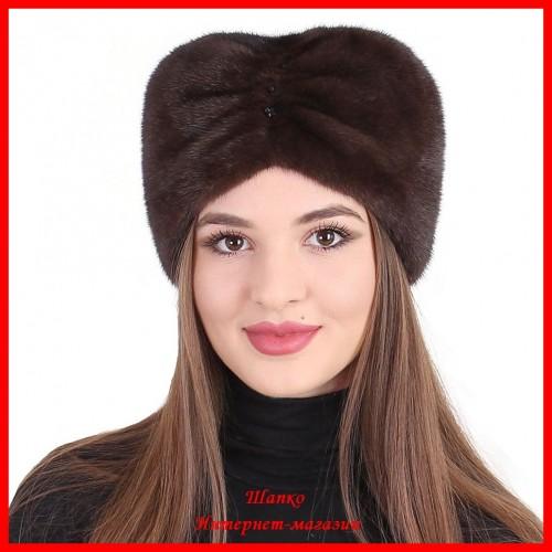 Норковая шапка Чалма 1