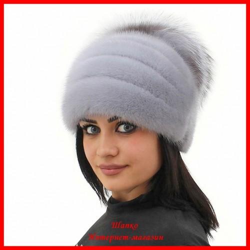 Норковая шапка Стелла