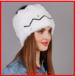 Норковая шапка Лана