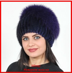 Меховая шапка Кателина 1