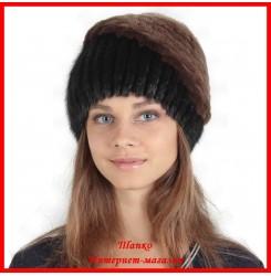 Меховая шапка Вита