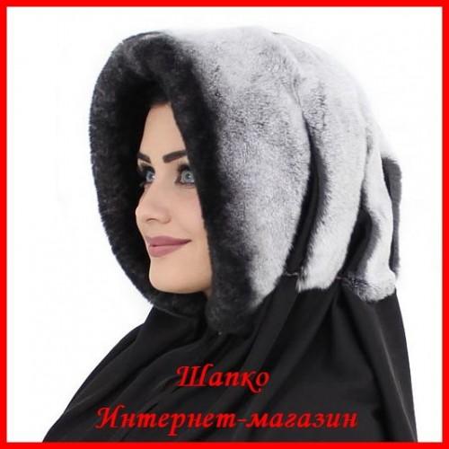 Капюшон Нежность 2 из кролика