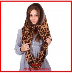 Платок Леопард 1 с норкой