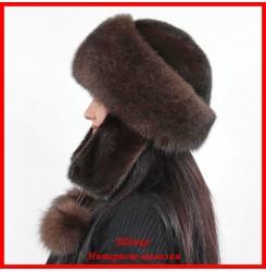Меховая шапка Ярославна 1