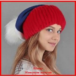 Трикотажная шапка Виктория
