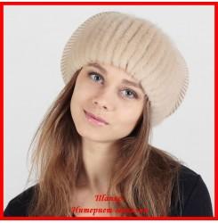 Трикотажная шапка Клара