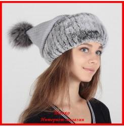 Трикотажная шапка Илона
