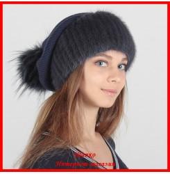 Трикотажная шапка Аделина