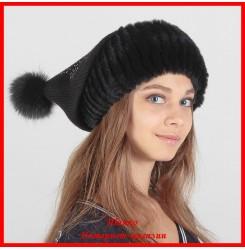 Трикотажная шапка Ирэн