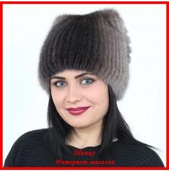 Меховая шапка Марго