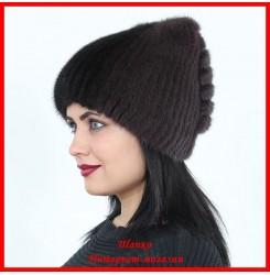 Меховая шапка Инесса