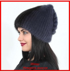 Меховая шапка Анжелика