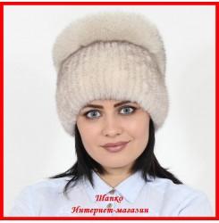 Меховая шапка Стелла