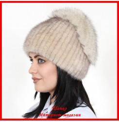 Меховая шапка Настя