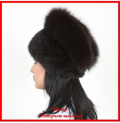 Меховая шапка Мария