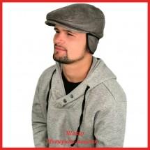 Мужская кепка Зигмунд из кожи